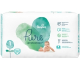 Pampers Pure Protection size 1, from 2-5 kg diaper panties 35 pieces