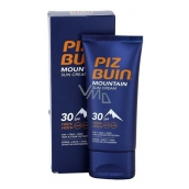 Piz Buin Mountain Suncream SPF30 moisturizing cream protects skin from sun, cold and dry wind 50 ml