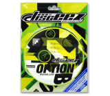 EP Line Disceez frisbee flying disc flexible neon green 13 cm 1 piece