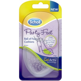 Scholl Party feet ultratenké gelové vložky 1 pár