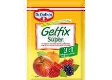 Dr. Oetker Gelfix Super směs na přípravu ovocných džemů a marmelád 3:1 25 g