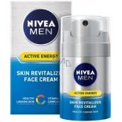 Nivea Men Active Energy Revitalizing Facial Cream For All Types Of Skin 50 ml