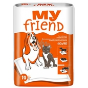 My Friend Washers for animals 90 x 60 cm 10 pieces