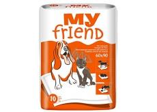 My Friend Podložky pro zvířata 90 x 60 cm 10 kusů