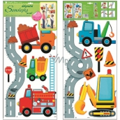 Room Decor Wall stickers meter road with cars for children 120 x 32 cm