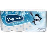 Big Soft Winter Snowman Toilet paper imprinted with 3 layers of 160 pieces of 8 pieces