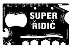 Albi Super driver wallet tool Super 8,5 cm × 5,3 cm × 0,2 cm.