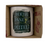 Bohemia Gifts Ceramic mug with a picture Thank you teacher 350 ml