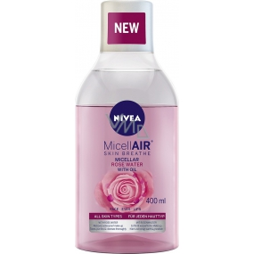 Nivea MicellAir two-phase micellar water with rose water 400 ml
