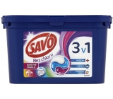 SAVO Washing Capsule 3in1 17d. Color 3996