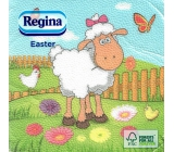 Regina Paper napkins 1 ply 33 x 33 cm 20 pieces Easter Sheep