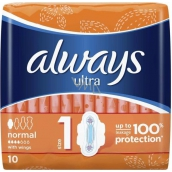 Always Ultra Normal Plus sanitary pads 10 pieces