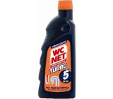 Wc Net Turbo drain cleaner gel 500 ml zprůchodní and hopelessly clogged with waste