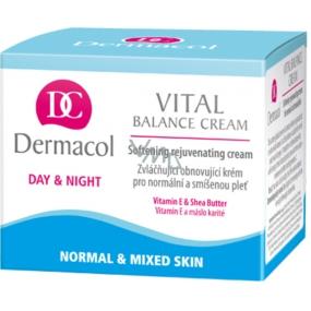 Dermacol Vital Balance Cream emollient regenerating skin cream 50 ml