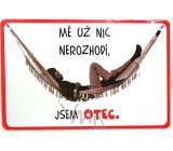 Nekupto Humor in the Czech Republic humorous sign 15 x 10 cm 1 piece