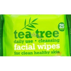 Xpe Tea Tree Peppermint cleansing wipes for face 2 x 25 pieces