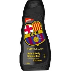 FC Barcelona Inspiration Shower Gel and Men's Shampoo 300 ml