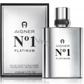 Etienne Aigner Aigner No.1 Platinum toaletní voda pro muže 50 ml