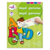 Ditipo Scratchbook Write a letter 5-7 years 16 pages 215 x 275 mm