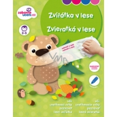 Ditipo Wiping book Animals in the forest 3-5 years 16 pages 215 x 275 mm