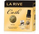 La Rive Cash Woman perfumed water 90 ml + deodorant spray 150 ml, gift set