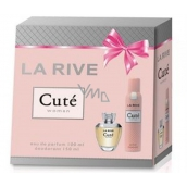 La Rive Cuté EdP 100 ml Women's scent water + 150 ml deodorant spray, gift set