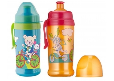 Rotho bottle for baby - pulling cap 360ml 12mes. + Orange