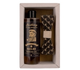 Bohemia Gifts & Cosmetics Sailor Beer Yeast & Hops shower gel 250 ml + wooden bow tie, cosmetic set