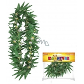 Wreath of Hawaii green with flowers, 2 types 1402