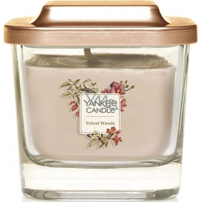 Yankee Candle Velvet Woods Elevation small glass 1 wick 96 g