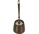 Spokar WC Set, brush diameter 85 mm, plastic cover 4322, various colors