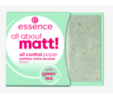 Essence All About Matt! anti-grease papers 50 pieces