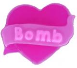 Bomb Cosmetics Heart - Hearts Desire 3D Natural glycerin soap 90 g