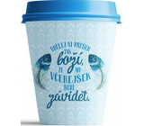 Nekupto Don't plasticize Mug To Go ceramic Make today 300 ml