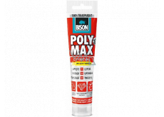 Bison Poly Max Crystal Express quick-drying universal assembly adhesive and sealant Clear 115 g