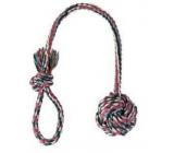 Trixie Cotton ball on a string 8.5 cm / 50 cm