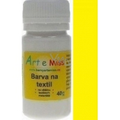 Art e Miss Color for light textile 62 yellow 40 g