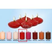 Lima Čočka plovoucí svíčka červená 50 x 25 mm 6 kusů