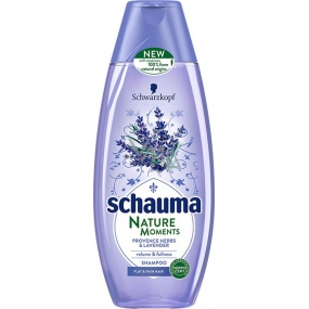Schauma Nature Moments Provencal herbs and lavender for volume and fullness hair shampoo 250 ml