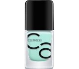 Catrice ICONails Gel Lacque nail polish 14 Mint Map 10.5 ml