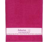 Albi Towel Unique friend pink 90 cm × 50 cm