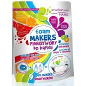 Foam Makers Barevná koupel olejová pěna do koupele v kapslích 9 x 35 g