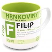 Nekupto Pottery Mug named Philip 0.4 liters
