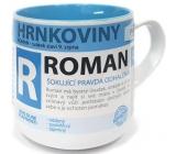 Nekupto Hrnkoviny Mug with the name Roman