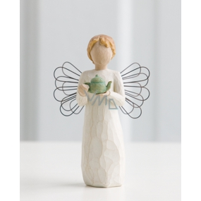 Willow Tree - Angel of your kitchen - Warm comfort among friends Willow Tree angel figurine, height 13.5 cm