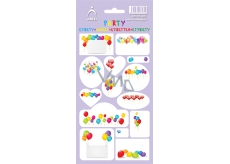 Self adhesive labels PARTY 3581 - violet