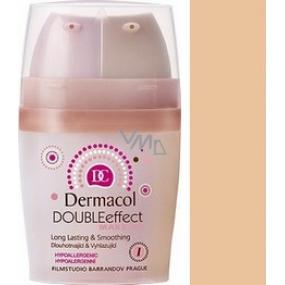 Dermacol Double Effect Makeup 01 2 x 15 ml
