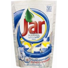 Jar Platinum Lemon capsules for dishwasher 24 pieces