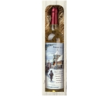 Bohemia Gifts & Cosmetics Chardonnay Christmas Eve 750 ml wine, gift set