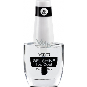 Astor Perfect Stay 3D Gel Shine Top Coat top nail polish 100 Transparent 12 ml